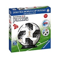 Adidas Fifa 2018 Soccer World Cup 3D PuzzleBall 72 piece Puzzle by Ravensburger
