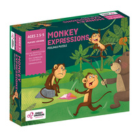 Monkey Expressions – Show What You Feel and Why by Cholk and Chuckles