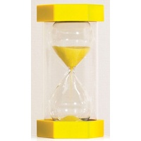 Large Yellow Sand Timer - 10 Minutes