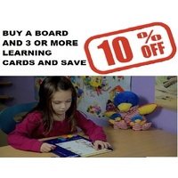 LOGICO Primo Board  and Learning Cards- 3-6yrs