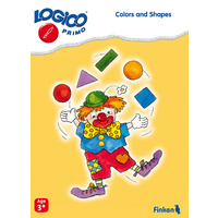 Colors and Shapes Learning Cards for LOGICO Primo Board