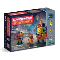 45 Piece Walking Robot Set by Magformers