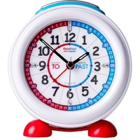 Easyread Time Teacher Alarm Clock ( Red/Blue Face )