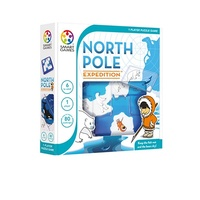 North Pole Expedition by Smart Games - Keep the Fish Wet and the Bears Dry - Ages 6 to adult