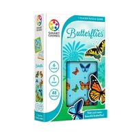 Butterflies by Smart Games - Slide & Create Beautiful Butterflies - Ages 6 to Adult