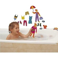 Tub Fun Fashion Bath Toys by Edushapes 3+