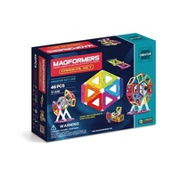 Magformers Carnival Set Fairy Wheel Creator Set 46 Pieces