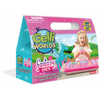 Gelli Worlds - Fantasy Pack by Zimpli Kids