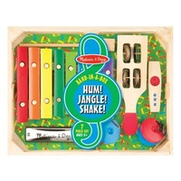 Band in a box  Hum, Jangle Shake 7 Instruments in 1 by Melissa & Doug
