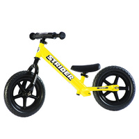 "12"" STRIDER Sport Balance Bike  for toddlers - Learn to ride- Yellow - Ages 3 to 5 years"