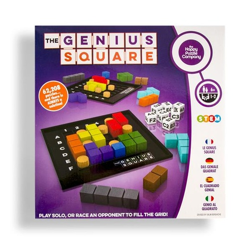 The Genius Square by the Happy Puzzle Company