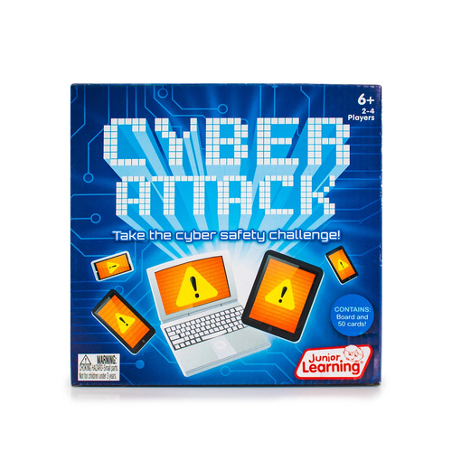 Cyber Attack - Cyber Safety Challenge by Junior Learning