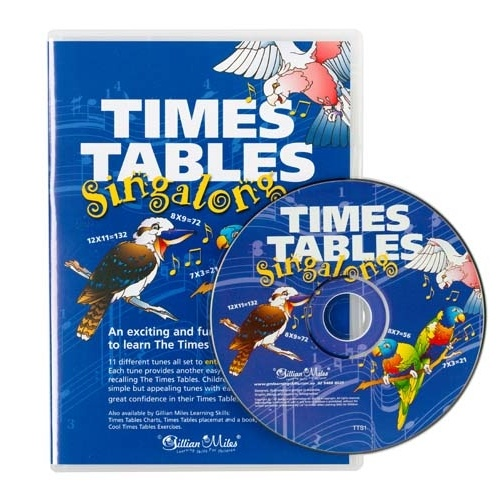 Gillian Miles Singalong Times Tables CD