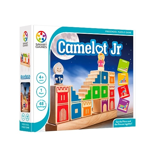 Camelot Jr by Smart Games - Get the Prince & Princess Together - 4 to 9 yrs